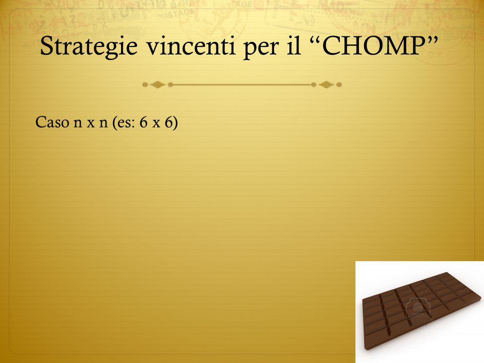 Strategie vincenti per il CHOMP
