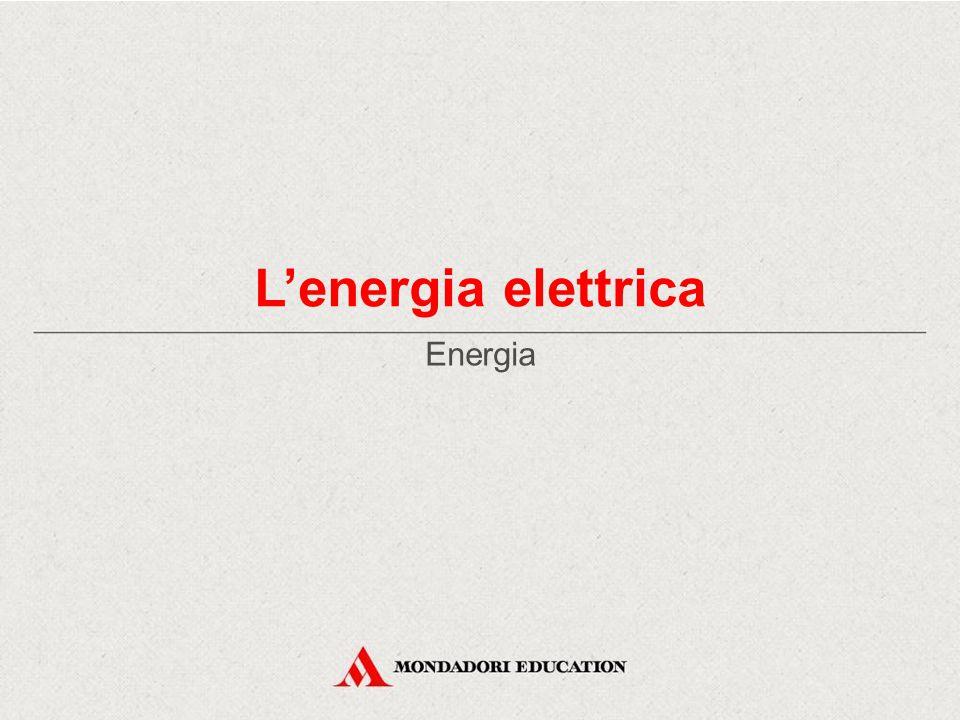 L'energia elettrica Energia *