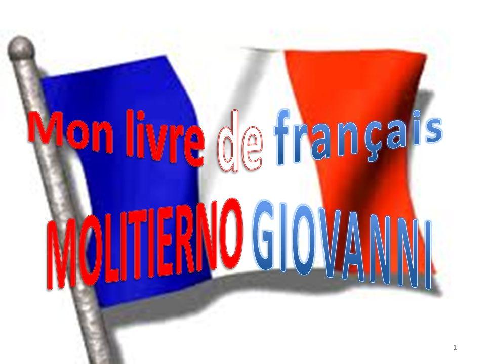 Mon livre de français MOLITIERNO GIOVANNI
