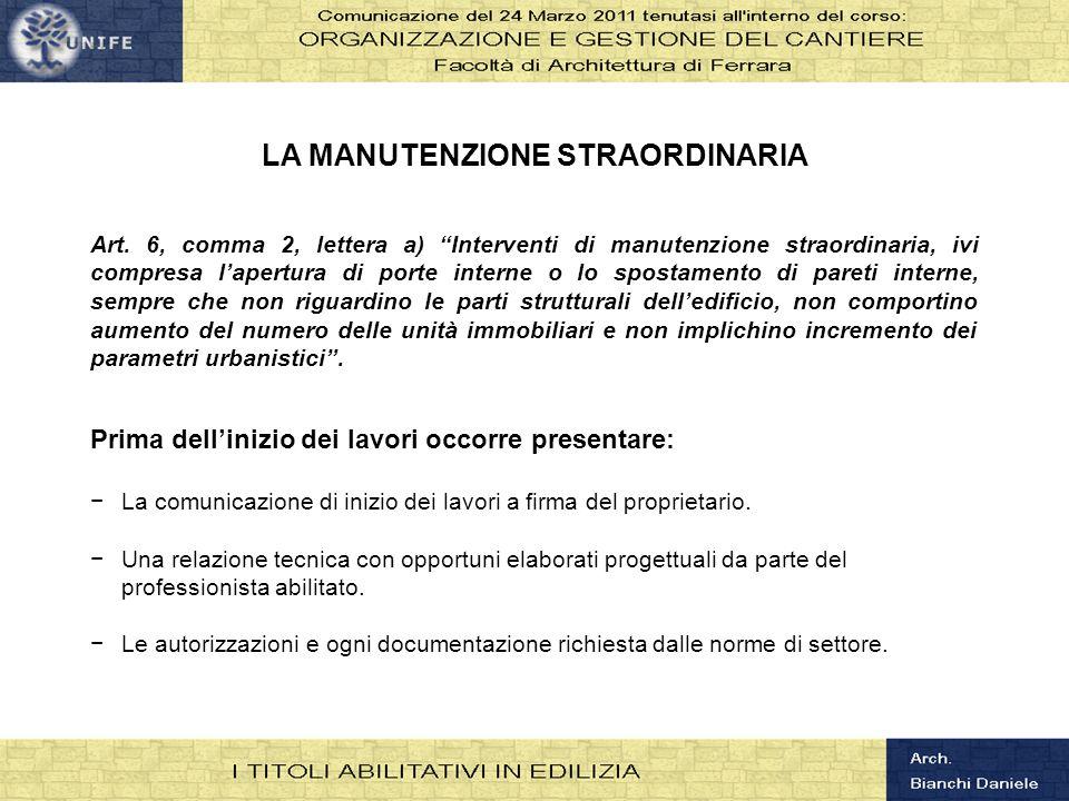 Organizzazione e gestione del cantiere ppt scaricare - Interventi di manutenzione straordinaria ...