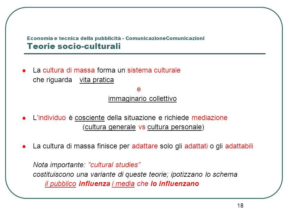 (cultura generale vs cultura personale)