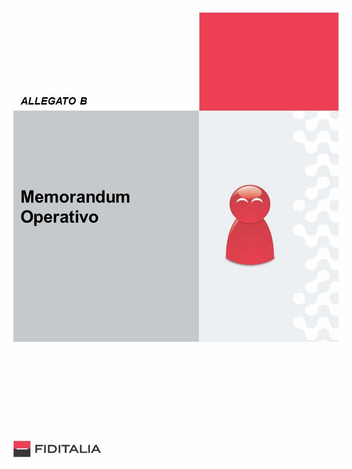 ALLEGATO B Memorandum Operativo