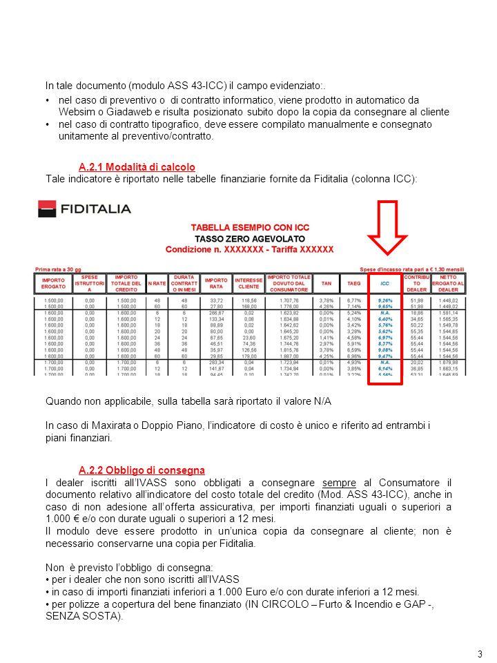 In tale documento (modulo ASS 43-ICC) il campo evidenziato:.