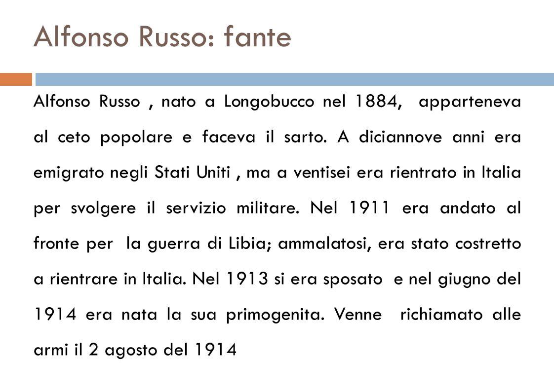 Alfonso Russo: fante