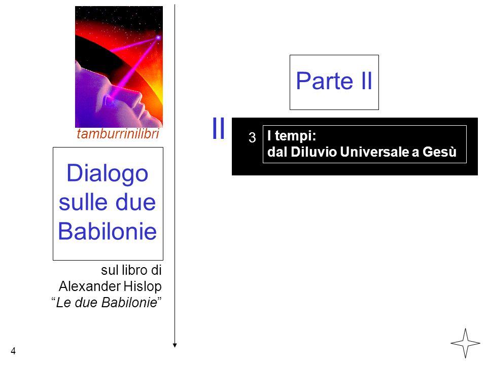 II Parte II Dialogo sulle due Babilonie tamburrinilibri I tempi: 3