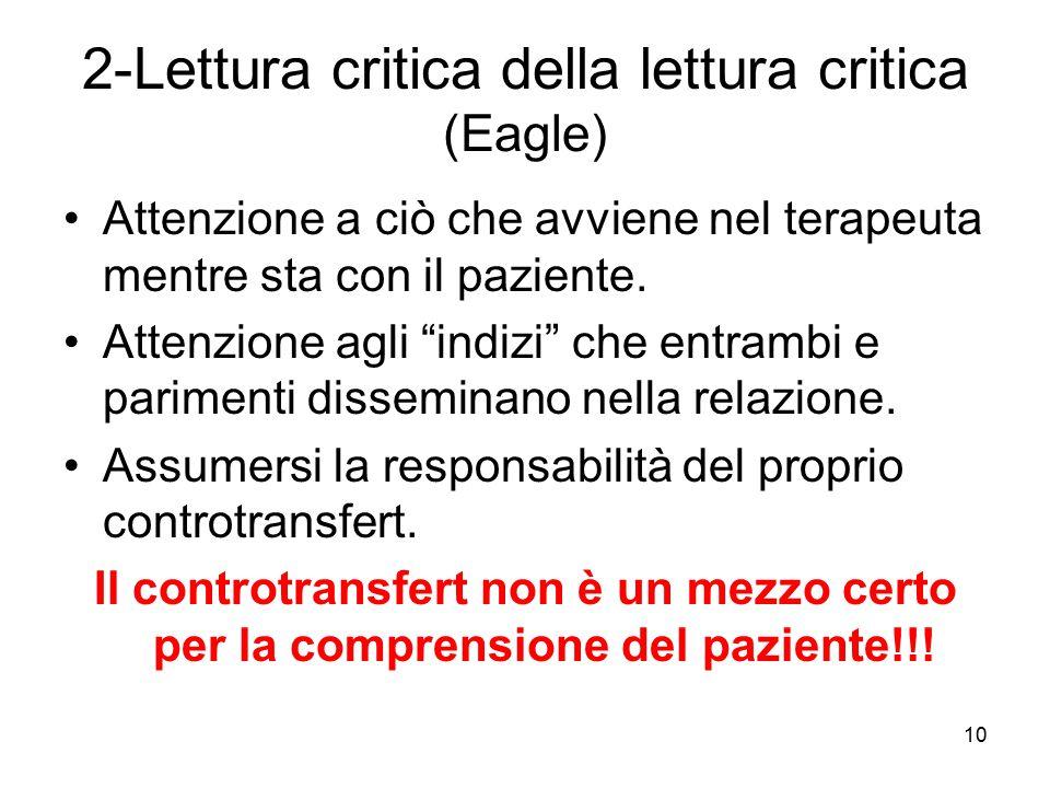 2-Lettura critica della lettura critica (Eagle)