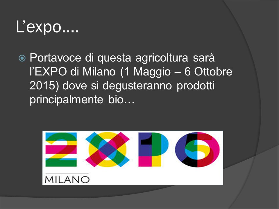 L'expo….