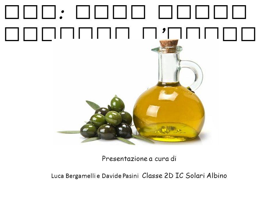 EVO: olio extra vergine d'oliva