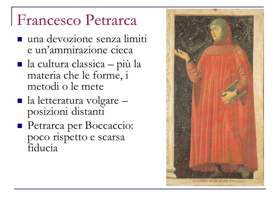 Francesco Petrarca una devozione senza limiti e un'ammirazione cieca