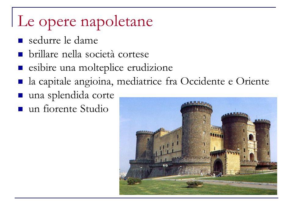 Le opere napoletane sedurre le dame brillare nella società cortese