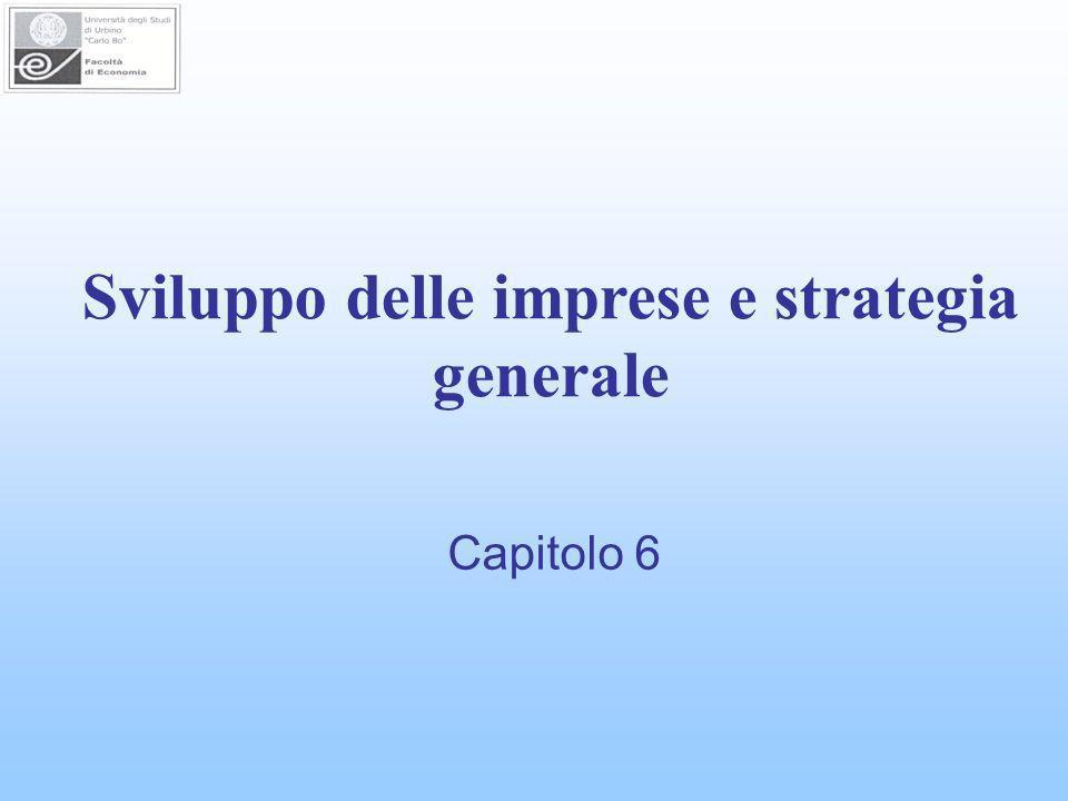 Sviluppo delle imprese e strategia generale