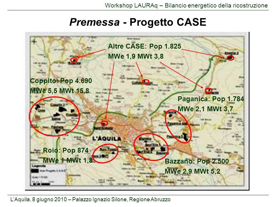 Premessa - Progetto CASE