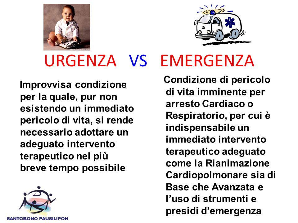 URGENZA VS EMERGENZA