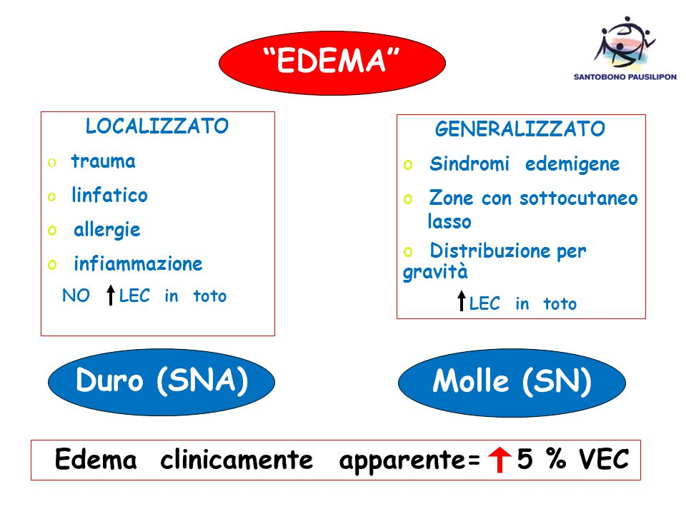 EDEMA Duro (SNA) Molle (SN)