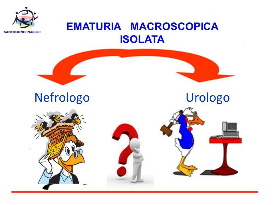 EMATURIA MACROSCOPICA ISOLATA