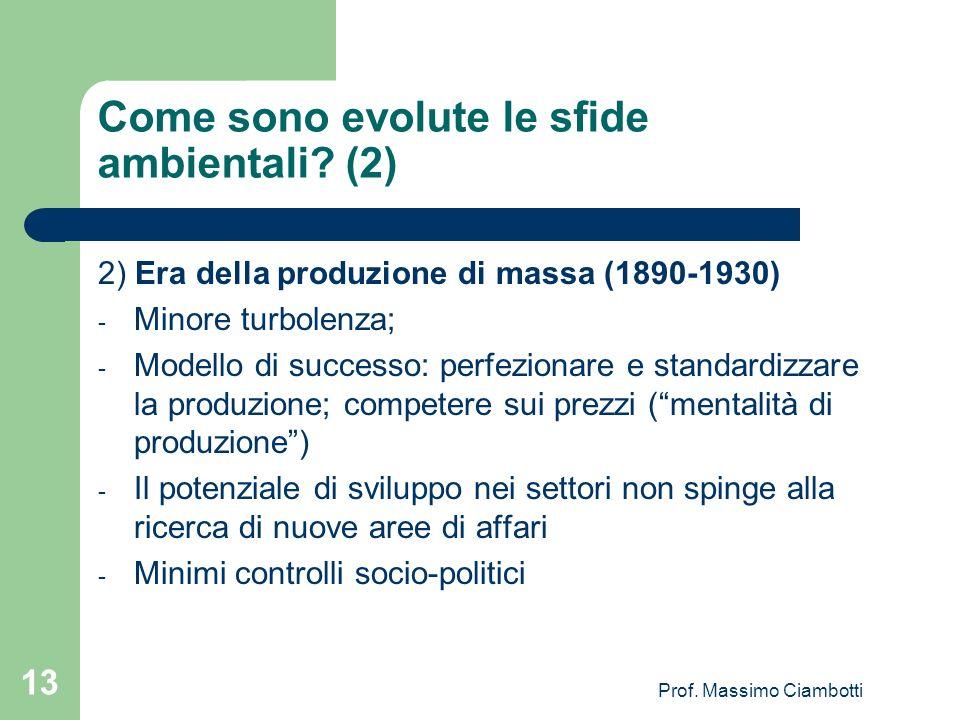 Come sono evolute le sfide ambientali (2)