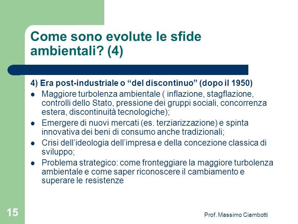 Come sono evolute le sfide ambientali (4)