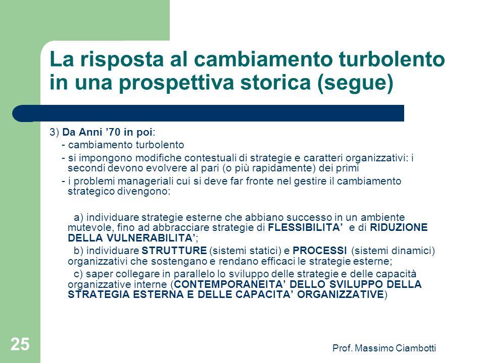 Prof. Massimo Ciambotti
