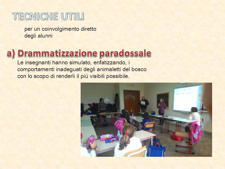 a) Drammatizzazione paradossale