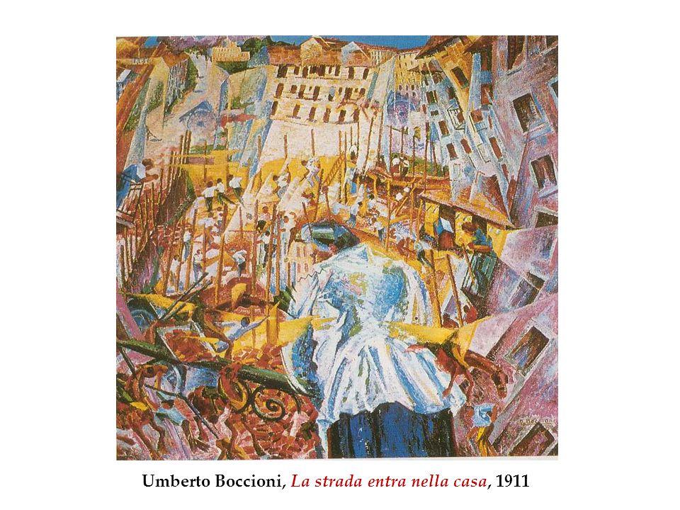 Umberto Boccioni, La strada entra nella casa, 1911