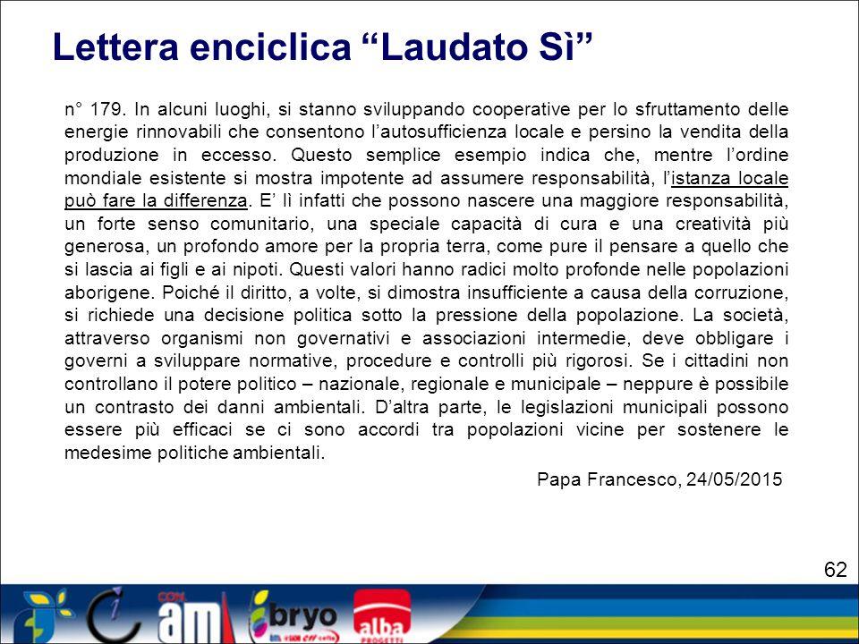 Lettera enciclica Laudato Sì
