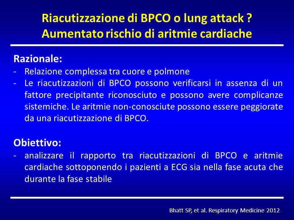 Riacutizzazione di BPCO o lung attack