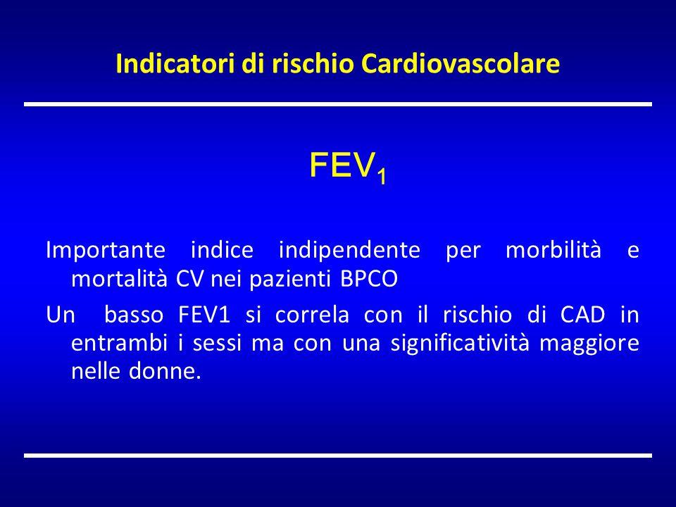 Indicatori di rischio Cardiovascolare