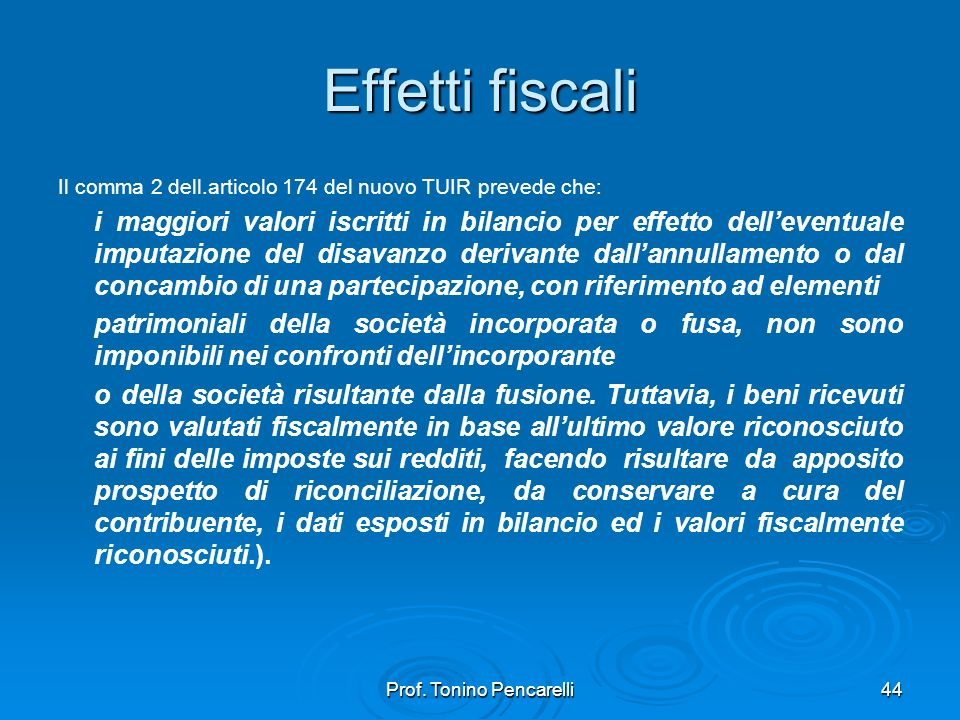 Prof. Tonino Pencarelli
