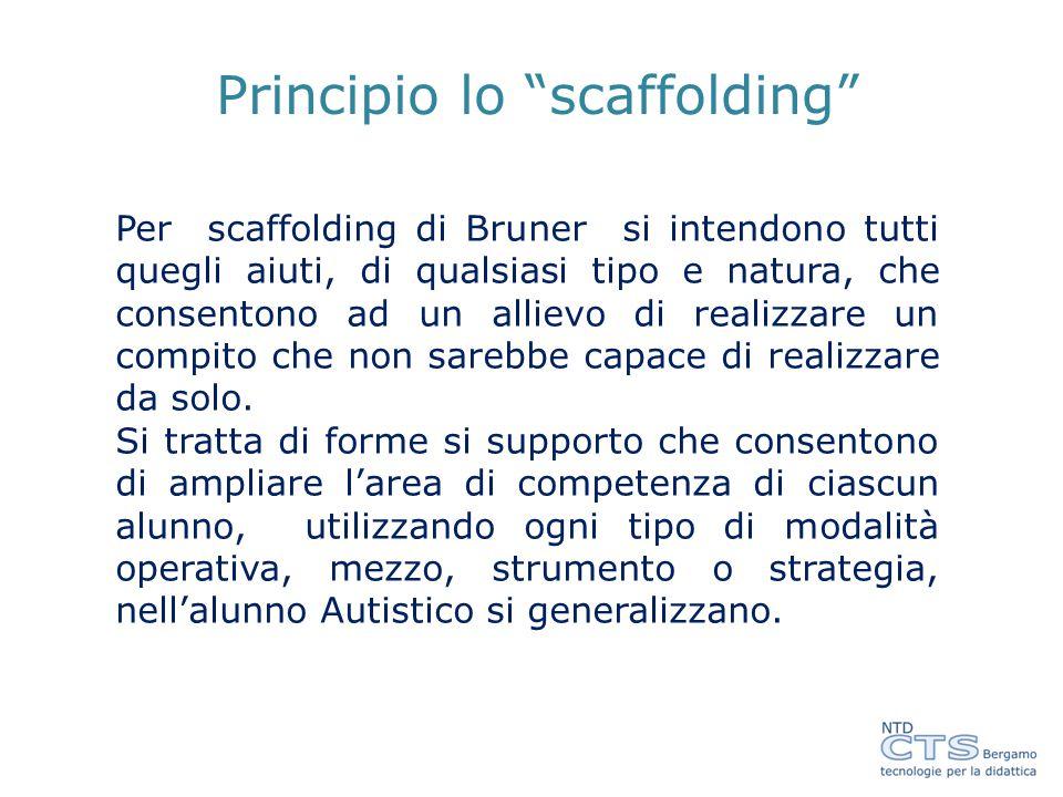 Principio lo scaffolding
