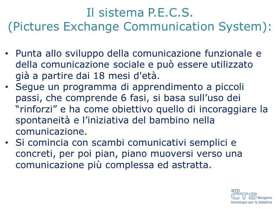 Il sistema P.E.C.S. (Pictures Exchange Communication System):