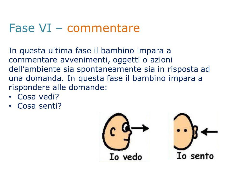 Fase VI – commentare
