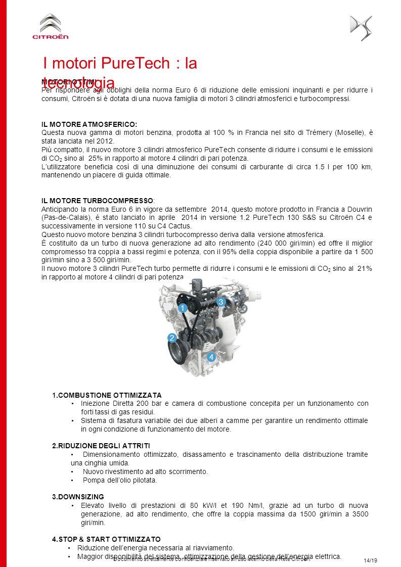 I motori PureTech : la tecnologia