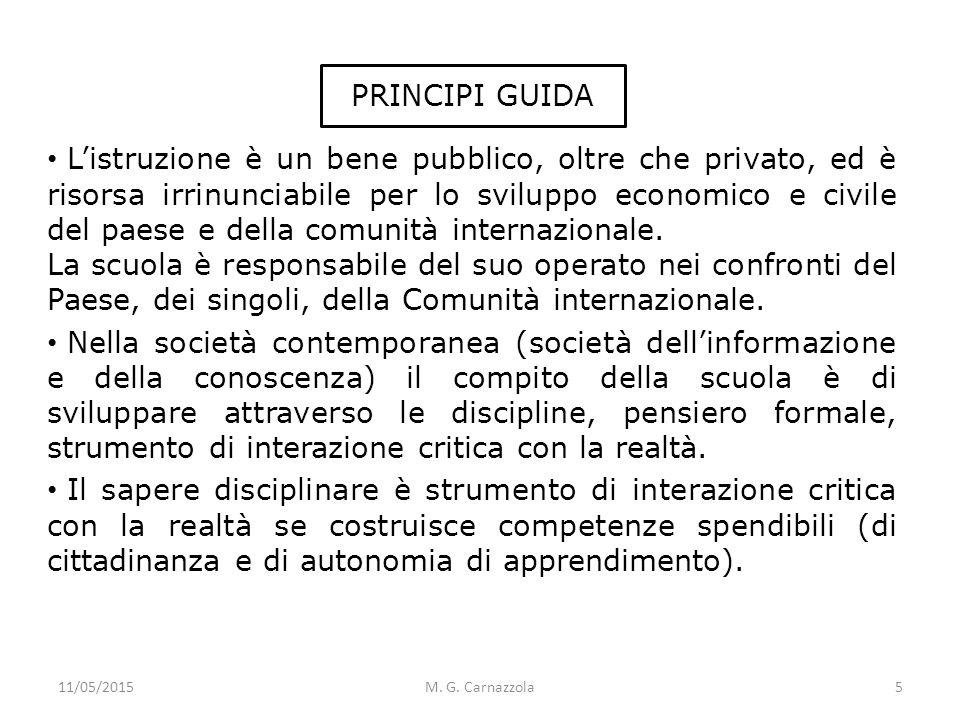 PRINCIPI GUIDA