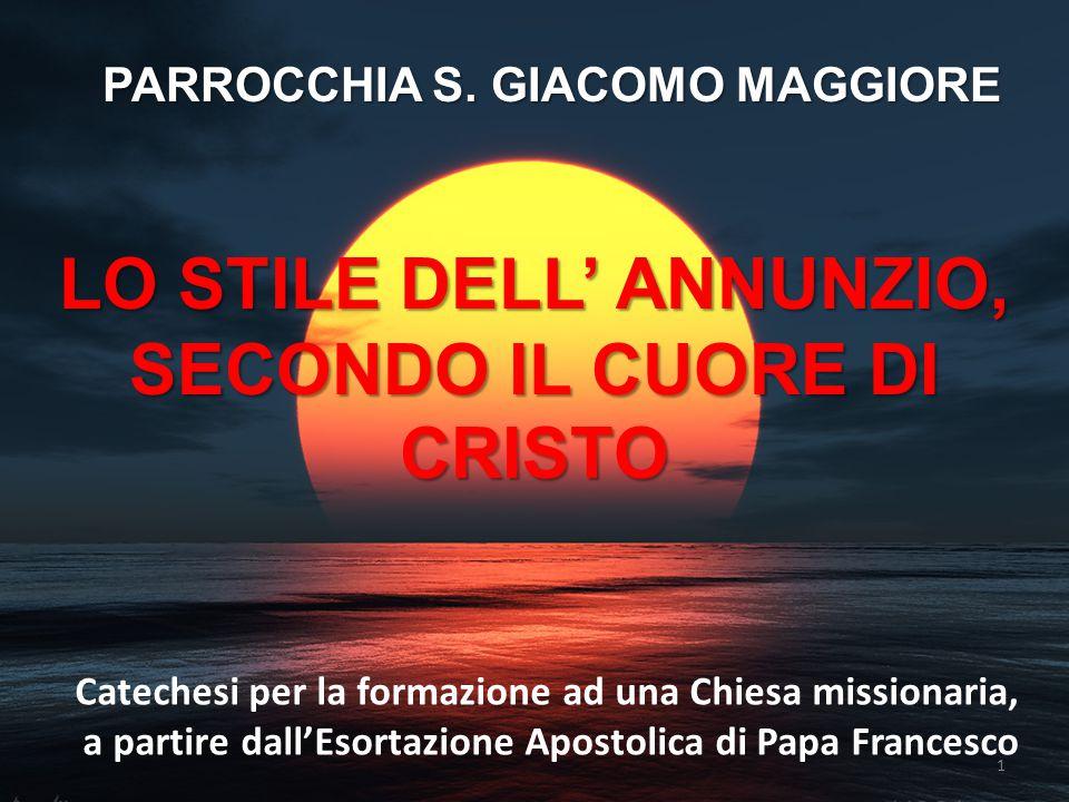 LO STILE DELL' ANNUNZIO, SECONDO IL CUORE DI CRISTO