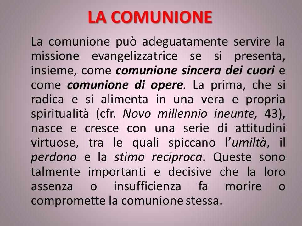 LA COMUNIONE