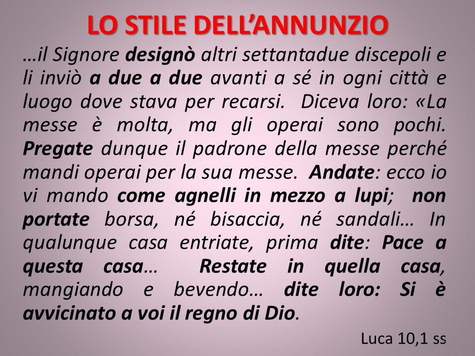 LO STILE DELL'ANNUNZIO