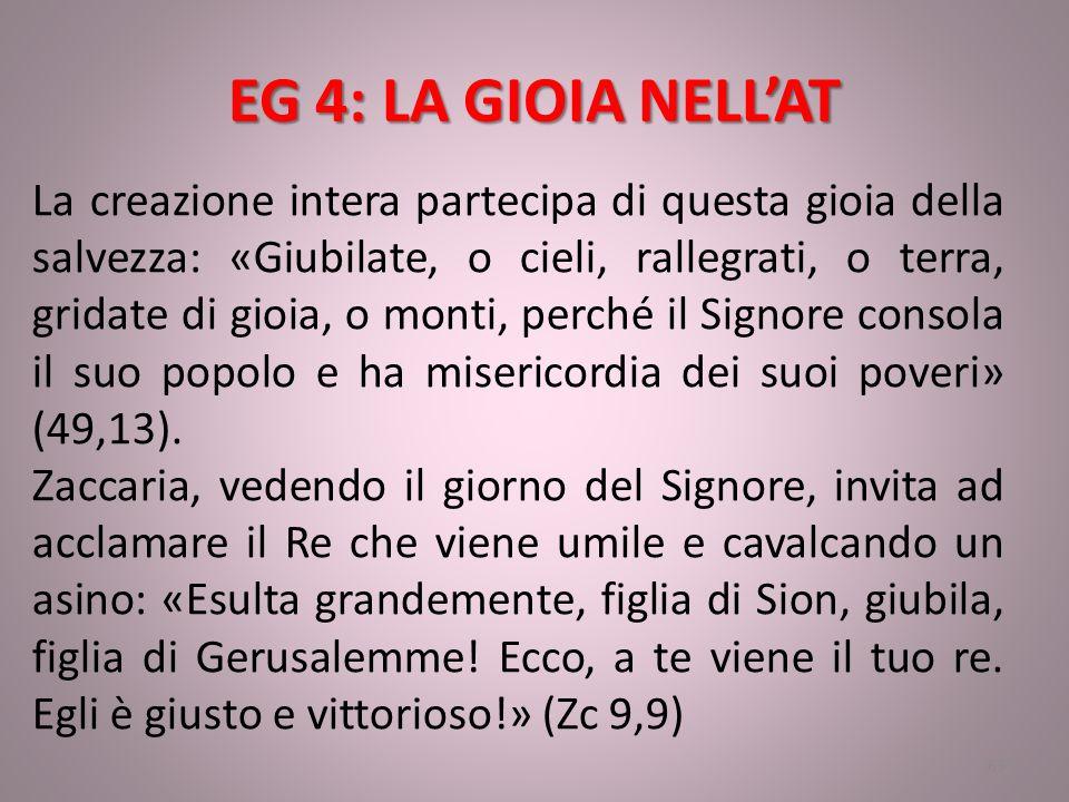 EG 4: LA GIOIA NELL'AT