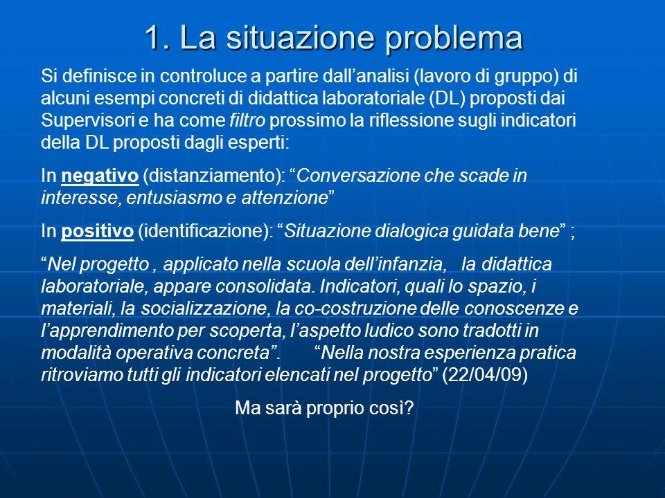 1. La situazione problema