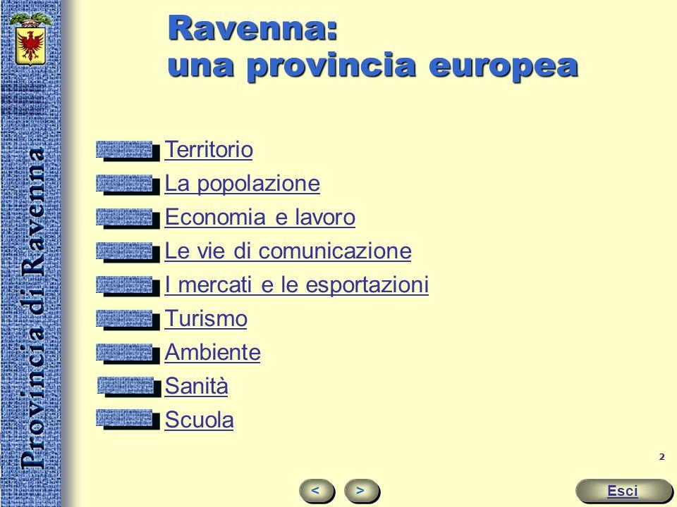 Ravenna: una provincia europea