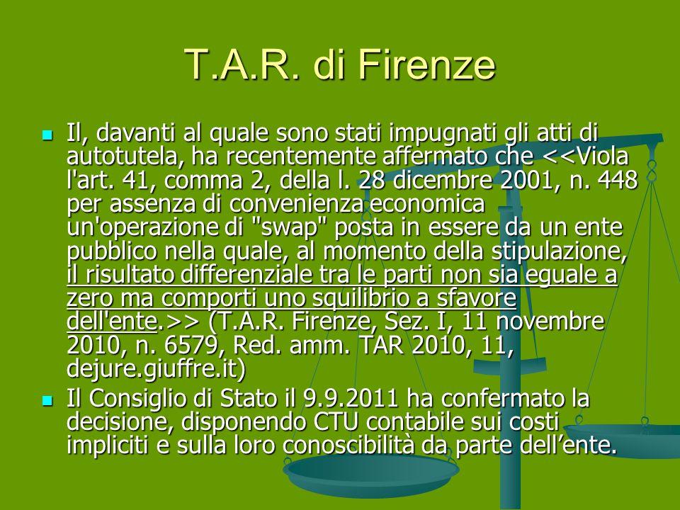 T.A.R. di Firenze