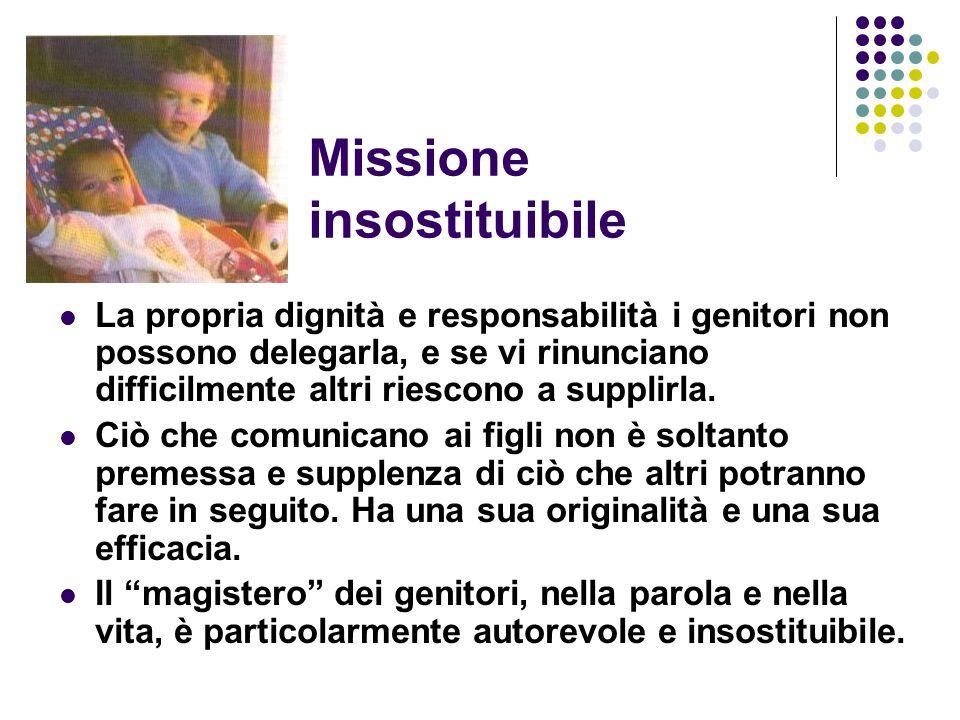 Missione insostituibile