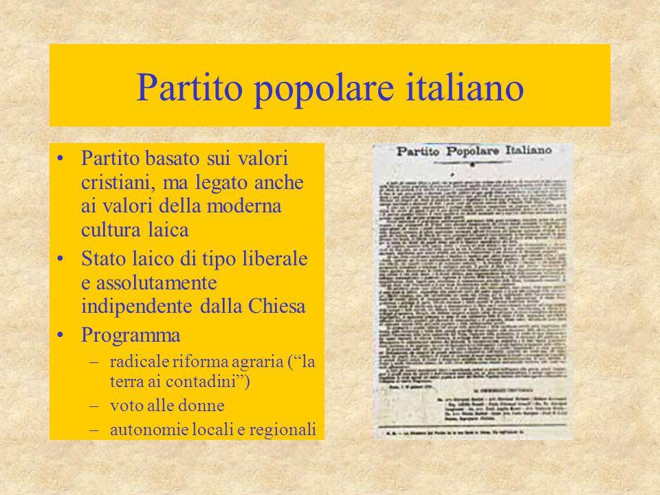 Partito popolare italiano
