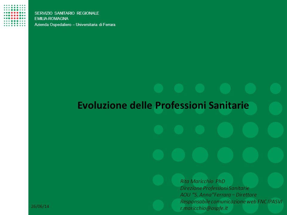 Evoluzione delle Professioni Sanitarie