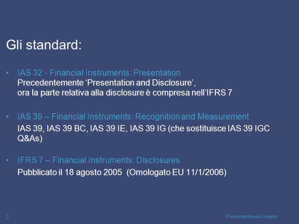 27/03/2017Gli standard: