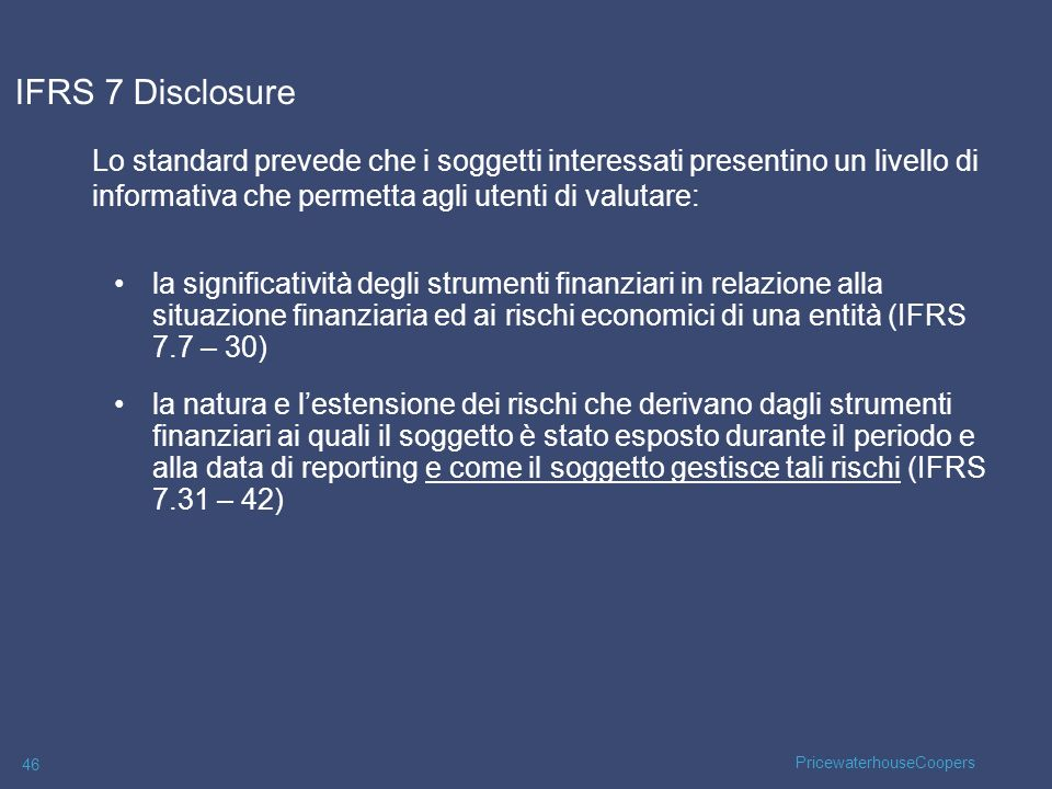 27/03/2017 IFRS 7 Disclosure.