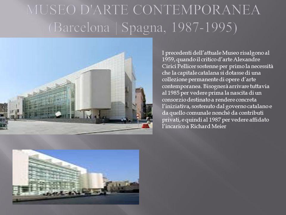 MUSEO D ARTE CONTEMPORANEA (Barcelona | Spagna, 1987-1995)
