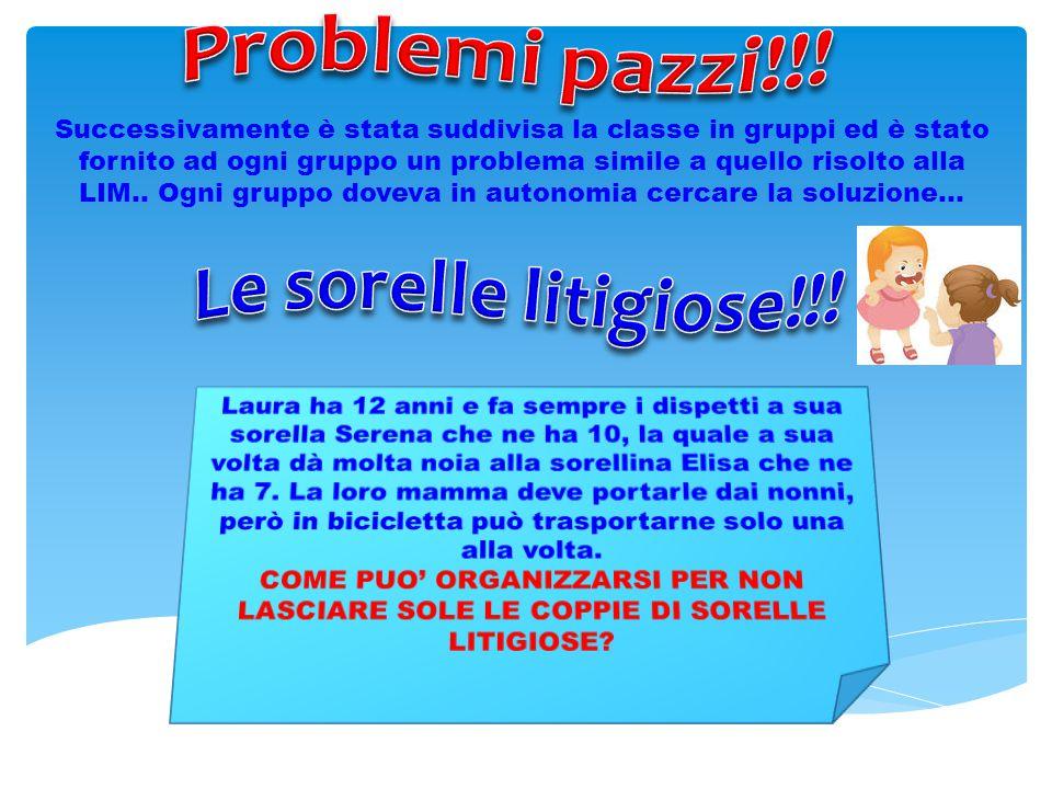 Problemi pazzi!!! Le sorelle litigiose!!!