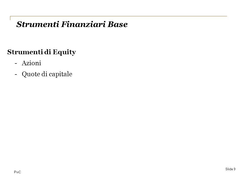 Strumenti Finanziari Base