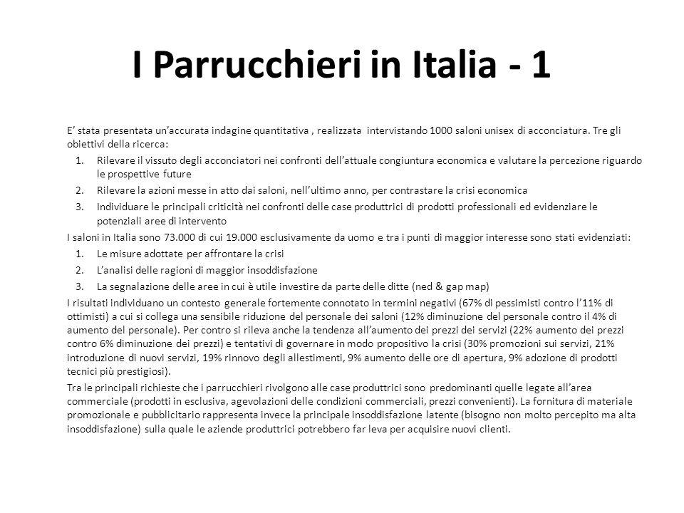 I Parrucchieri in Italia - 1