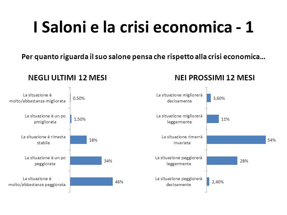 I Saloni e la crisi economica - 1